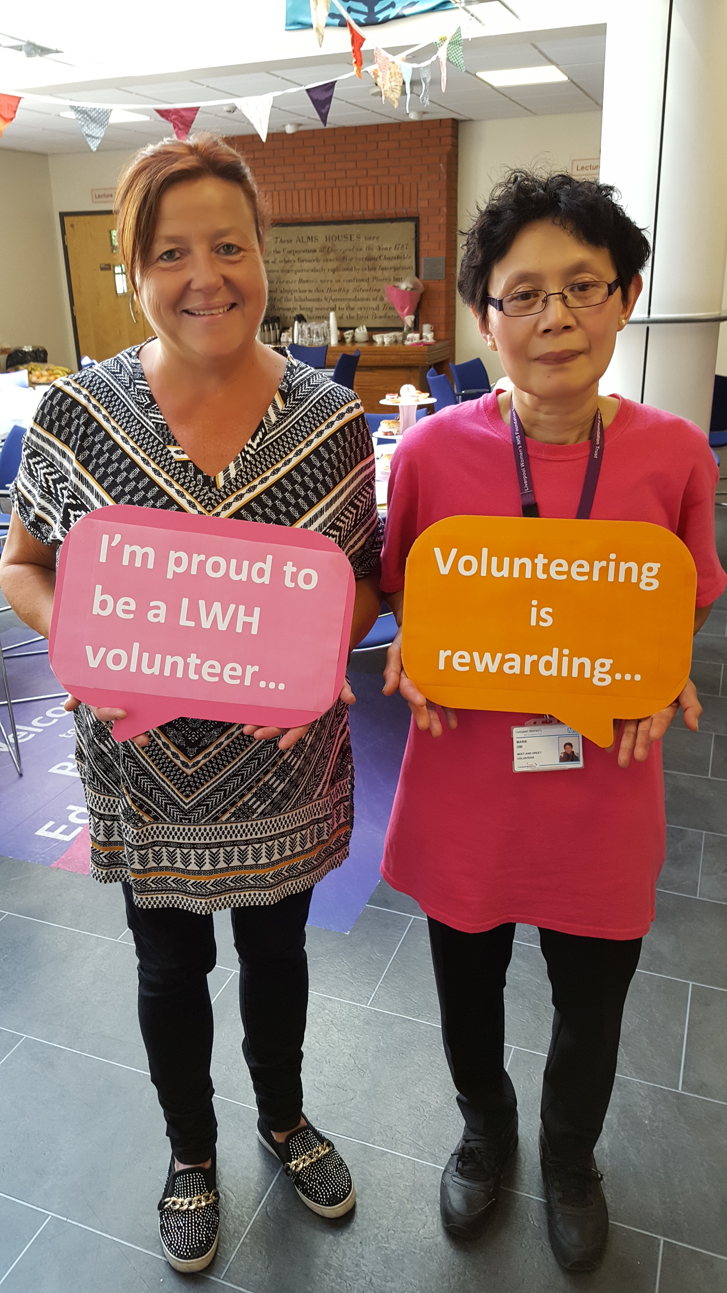 Celebrating Liverpool Womens Wonderful Volunteers Liverpool