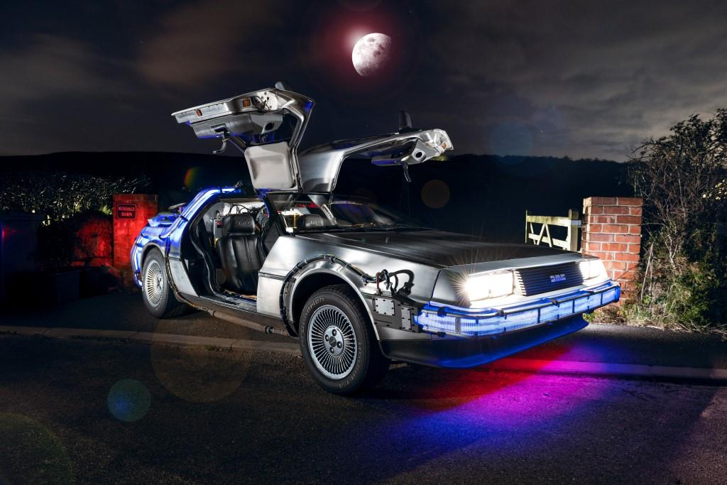 Delorean car